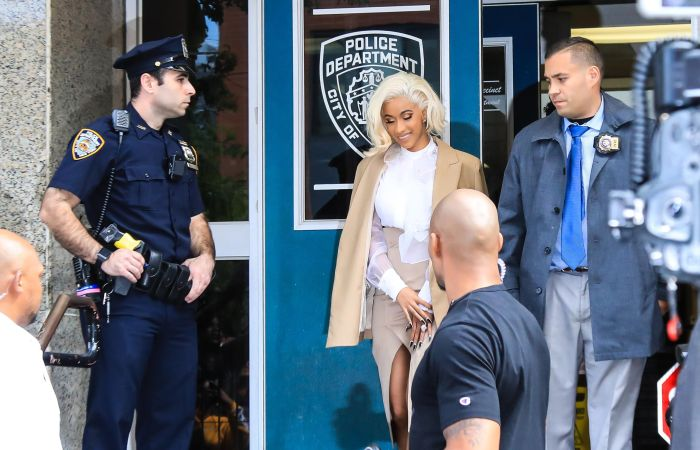 Singer Cardi B charged after fight at a New York strip club