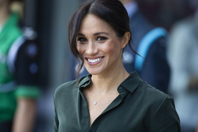 meghan markle wedding hairstyle