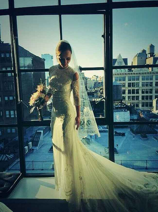 Christina Ricci Wedding Dress