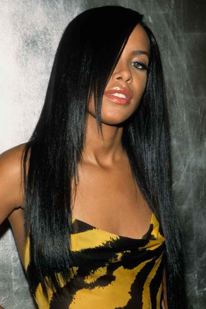 Aaliyah Bangs Hairstyle