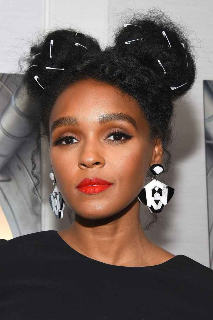 Janelle Monáe hair moments