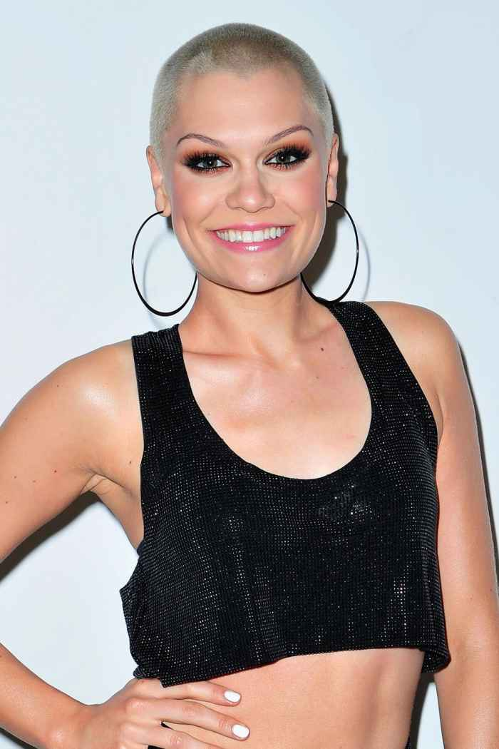 Jessie J Shaved Head for Charity
