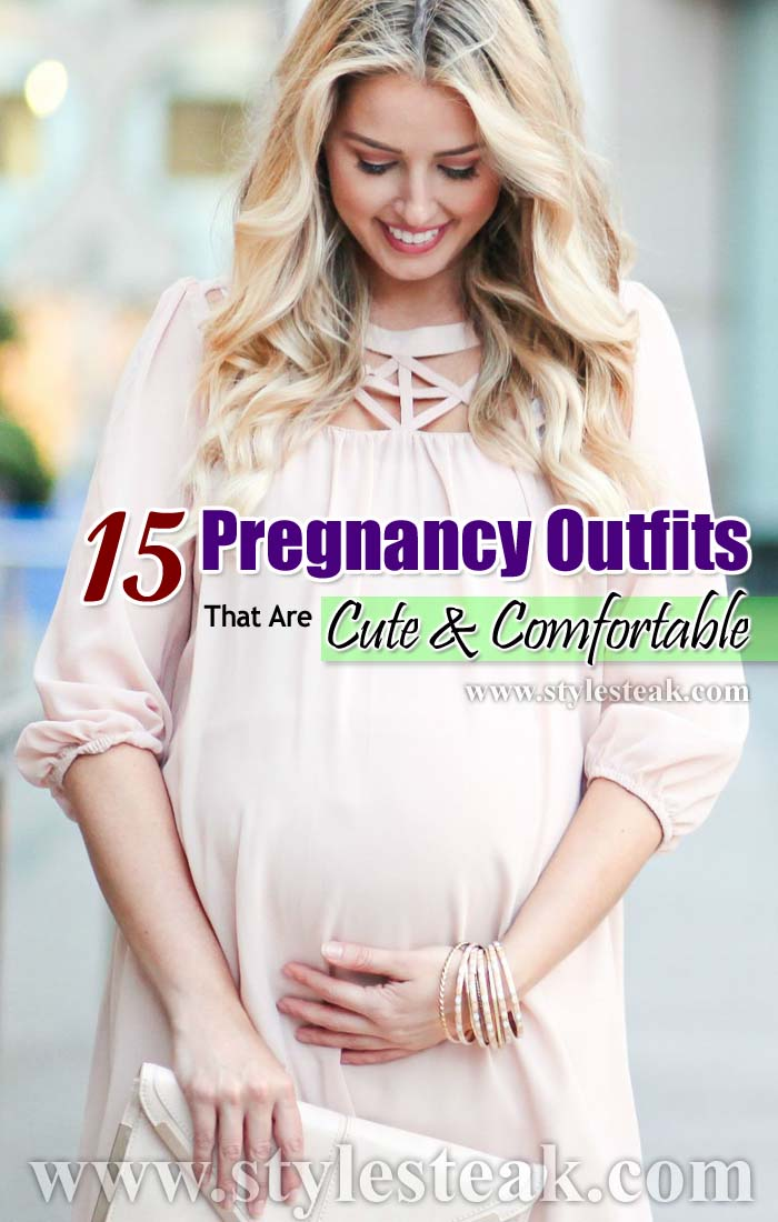 15 Pregnancy Outfits That Are Cute and Comfortable